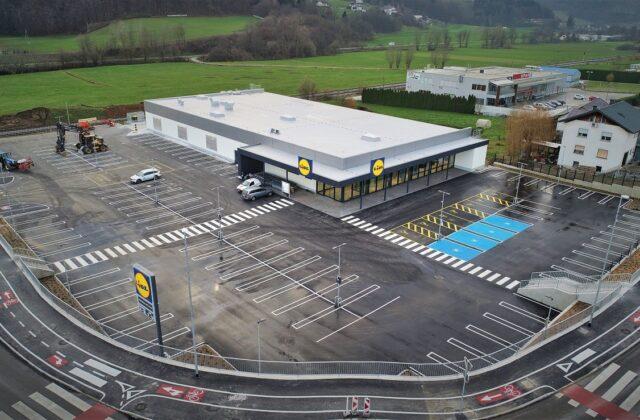 Lidl Shopping Centre in Trebnje