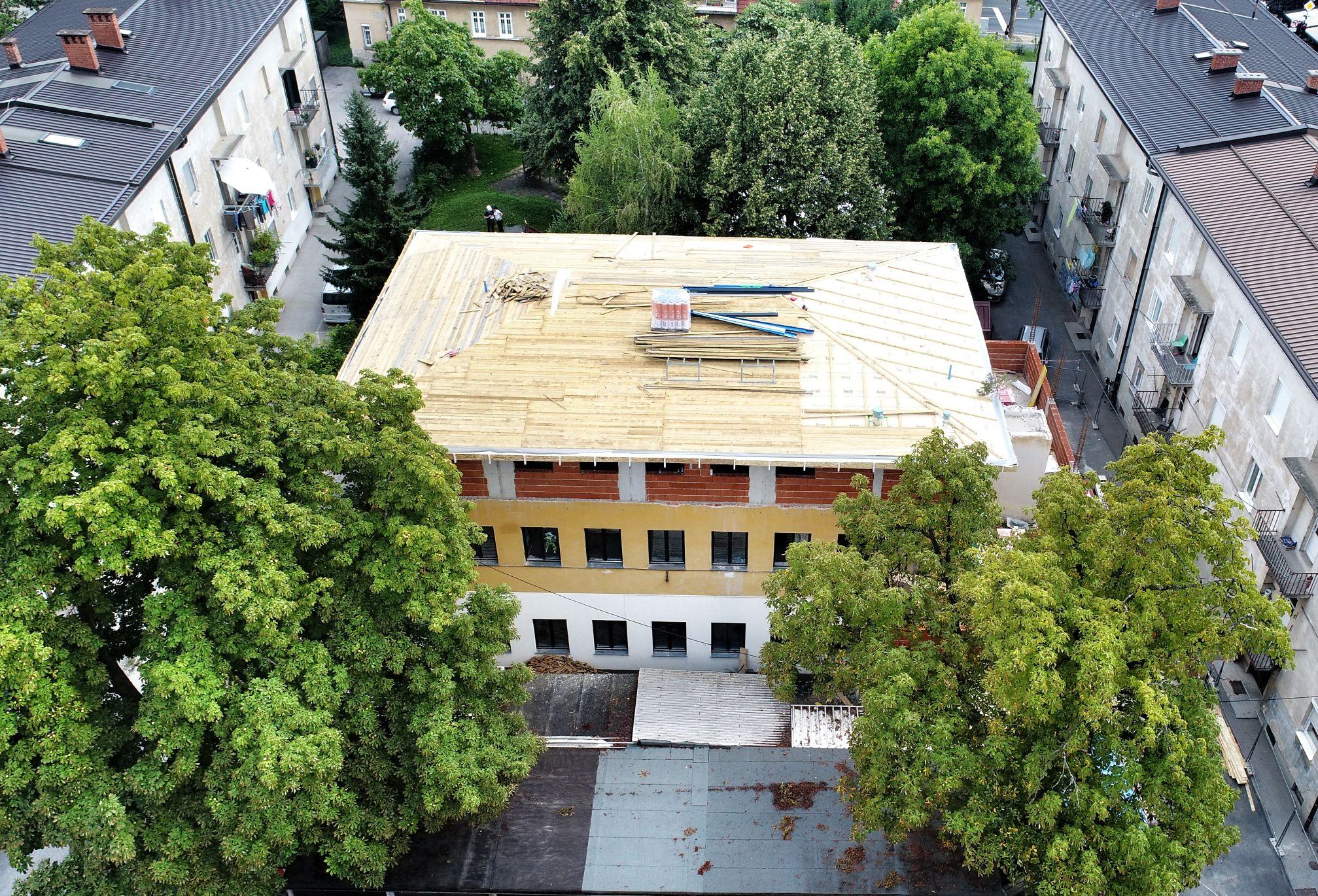 Rekonstrukcija in prizidava Vrtca Jelka – enota Palčki
