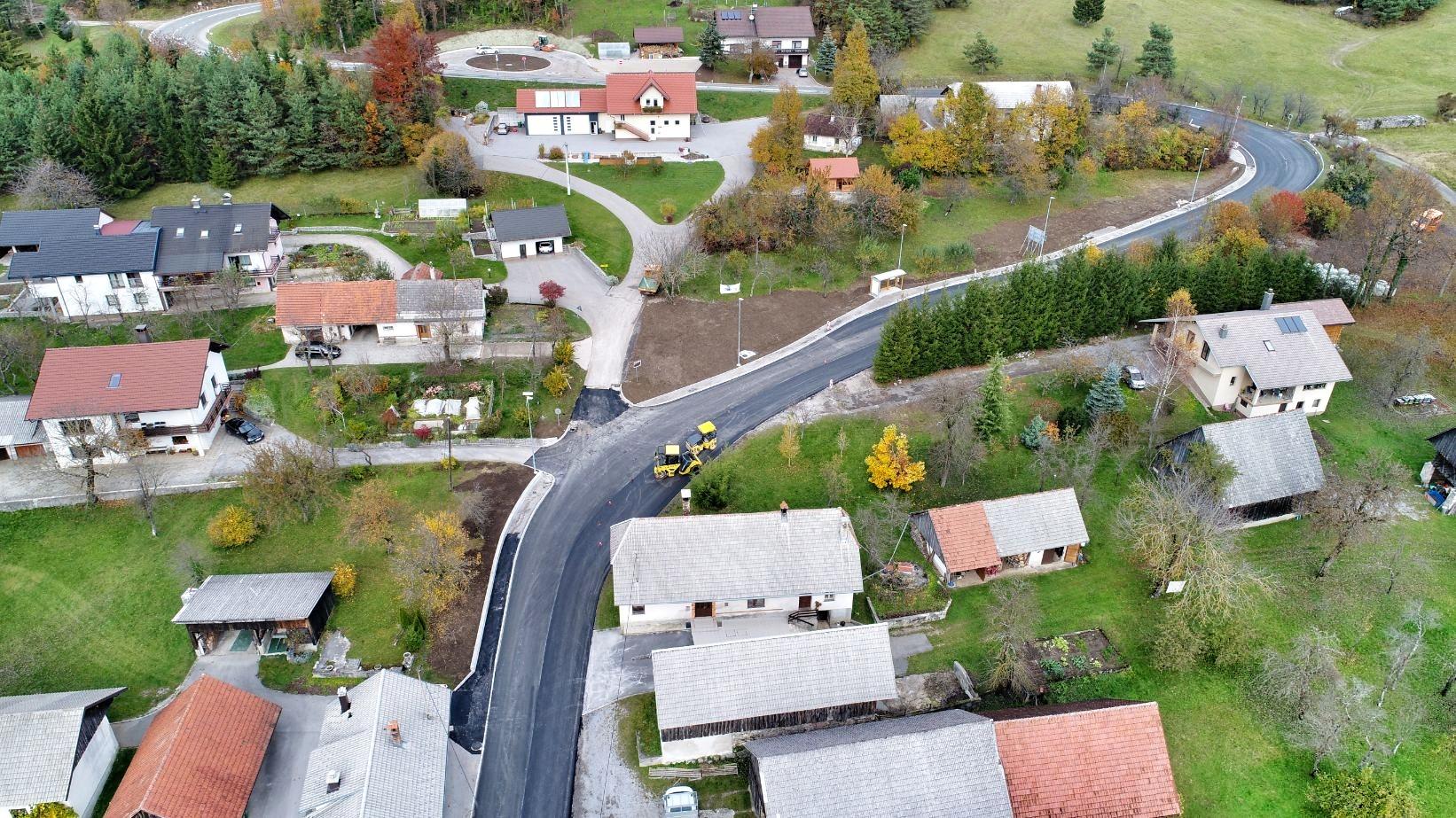 Ureditev prometnih površin v Občini Cerknica