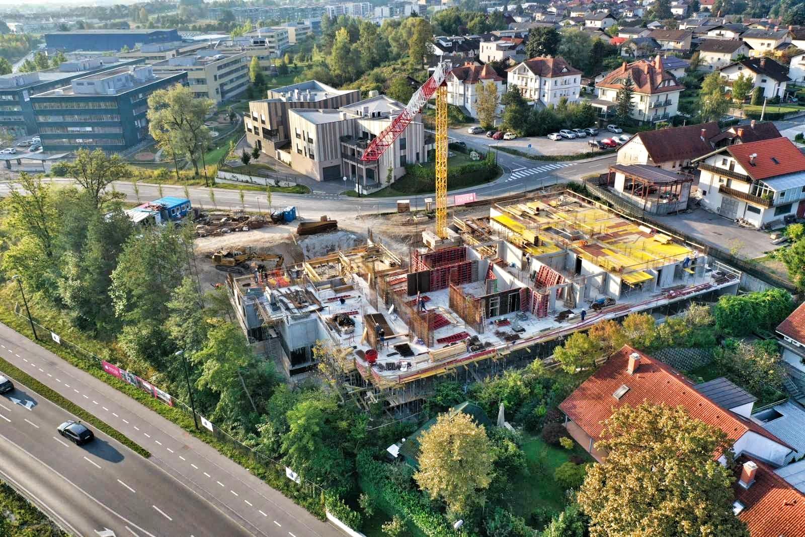 Stanovanjska soseska B30 v Ljubljani